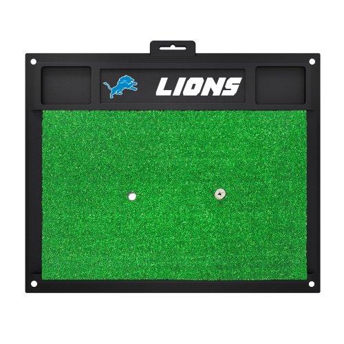 FANMATS 15461 Detroit Lions Golf Hitting Mat Detroit Lions Team Football Mat