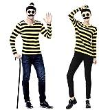 Where's Wally? Odlaw wally costume rare cane unisex size M~XXL (M)