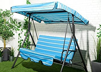Image Unavailable. Image not available for. Colour Water Resistant 2 Seater Replacement Canopy ... & Water Resistant 2 Seater Replacement Canopy u0026 Seat Pad ONLY for ...