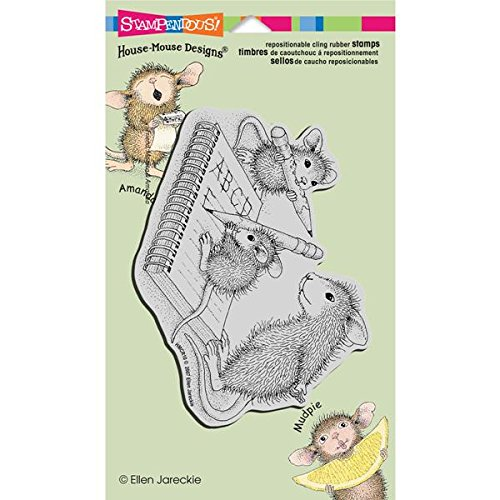 """Stampendous Cling Rubber Stamp, """"Practice ABC's"""""""