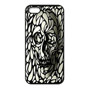 Illustration Painting Drawing Inspiration Camoflage IPhone 5,5S Cases for Guys, Iphone 5s Case for Girls [Black]