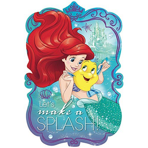 American Greetings The Little Mermaid Invite Postcards (8 Count)