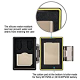 JJC Water-resistant Battery Case and SD Card Case