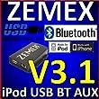 Zemez - Instalación de manos libres para automóviles Seat, ?koda y Volkswagen (Bluetooth 3.1)