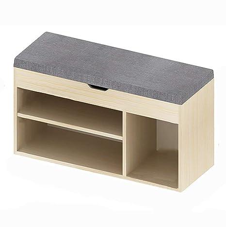 Amazon.com: KKLL Taburete de madera maciza carbonizada ...