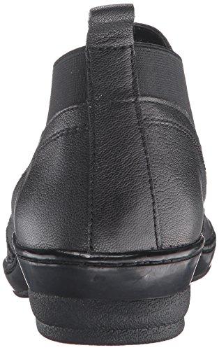 David Tate Mujeres Madison Pump Black Goat Leather