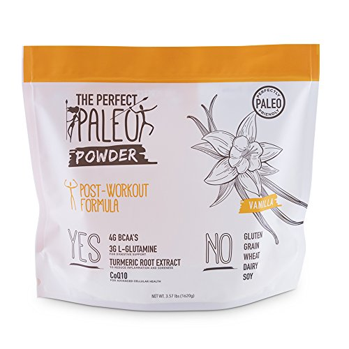 The Perfect Paleo Powder - Post Workout Paleo Protein Powder Vanilla (Natural Vanilla) Muscle Building Protein Powder, Best Protein Powder, Beef Collagen Protein - 30 (Collagen Building)