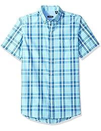Men's Saltwater Breeze Plaid Short Sleeve Shirt