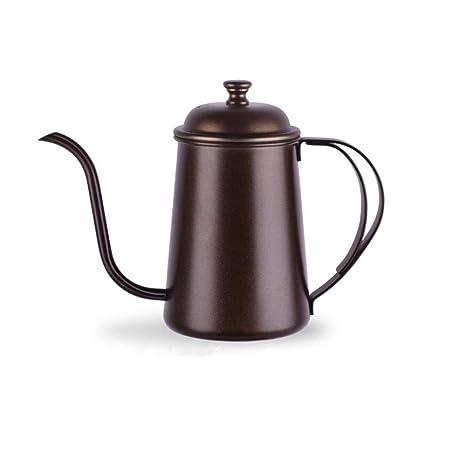 Amazon.com: Cafetera de acero inoxidable, filtro de goteo ...