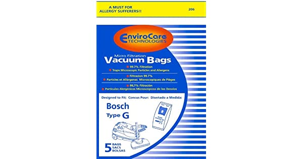 Amazon.com: Bosch Tipo G Bolsas bbz51afg1u – Generic ...