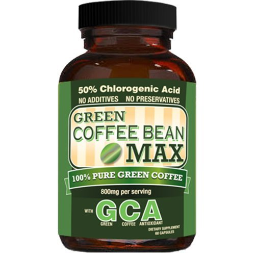 Green Coffee Bean Max, Weight Loss Supplement with Recommended Dose - 3 pack by Green Coffee Bean Max