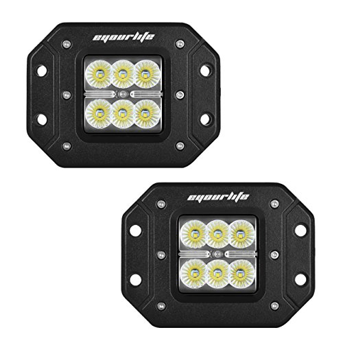 led driving lights flush mount - 4