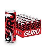 Guru Original Energy Drink, 8.4 Ounce Cans (Pack of 24)