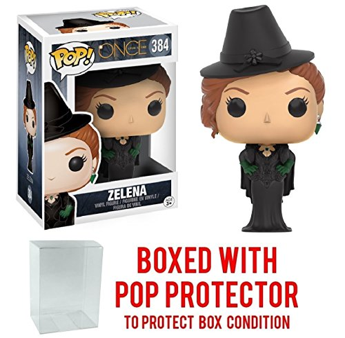 Funko Pop! Television: Once Upon a Time - Zelena Vinyl Figure (Bundled with Pop BOX PROTECTOR CASE) ()