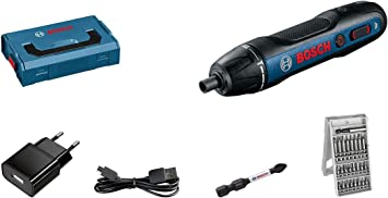 Oferta amazon: Bosch Professional Bosch GO - Atornillador a batería (3,6V, 25 puntas, L-BOXX Mini)