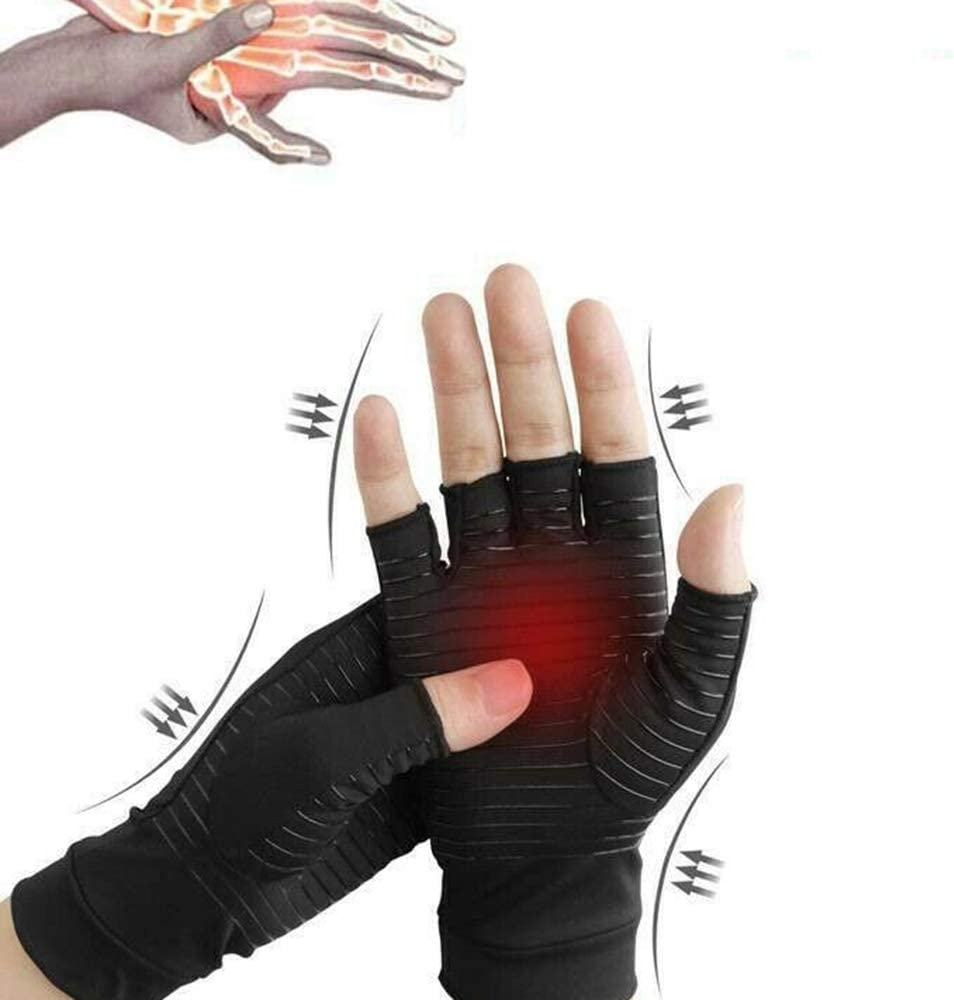 Tuneway Guantes de Compresi/óN Artritis T/úNel Carpiano Mu?Equera de Mano Soporte S