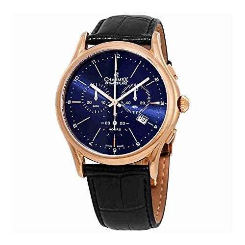 Charmex Silverstone Chronograph Blue Dial Mens Watch 2913