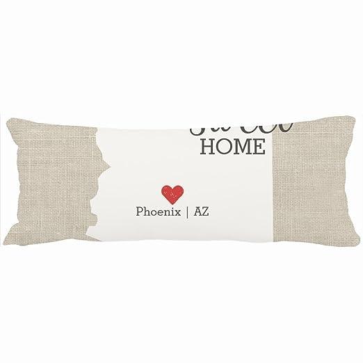 Decorativo almohadas Arizona Estado Love Home Sweet Home ...