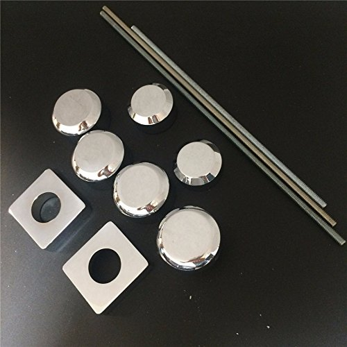 NBX-Fork Axle Caps Covers For 2006-2007 Suzuki Gsxr 600 750 2005-2008 Gsx-R 1000 Chr