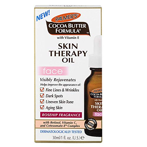 Palmer's Cocoa Butter Formula Skin Therapy Oil for Face 1 oz (Pack of 3)