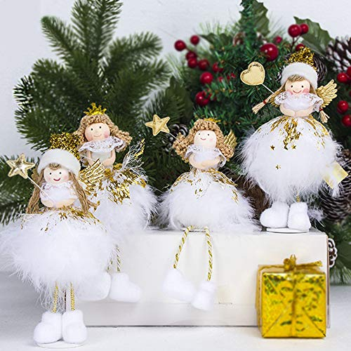 TOP SEWING Lot of 4 Angel Christmas Tree ()