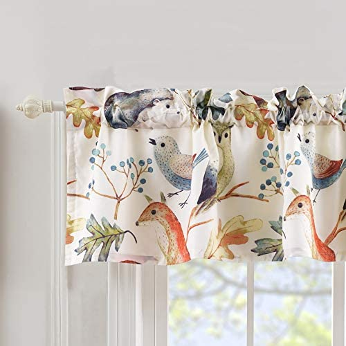 Barefoot Bungalow Willow Valance, 84 W x 16 L, Fox