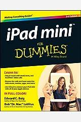 iPad mini For Dummies (For Dummies (Computers))