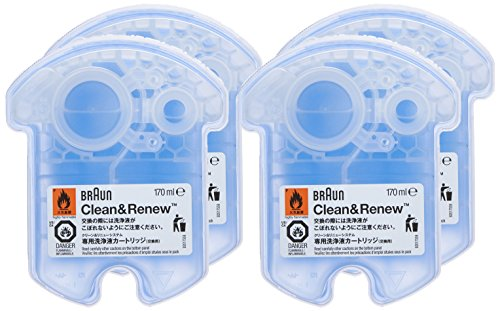 Braun Clean And Renew Cartridge Refills 4 Count Amazonca Beauty