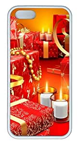 Christmas Presents Custom iPhone 5s/5 Case Cover TPU White Christmas gift