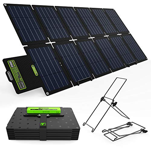 Image of Upgrade Topsolar SolarFairy 100W Foldable Solar Panel Charger Kit for