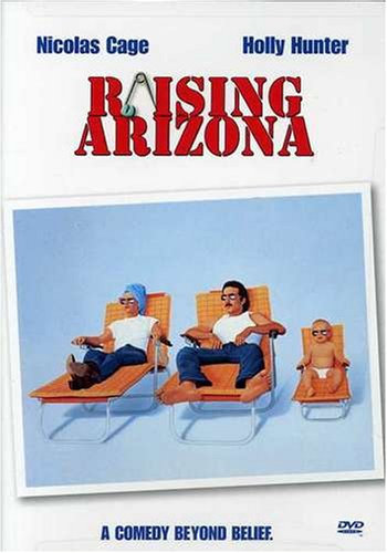 DVD : Raising Arizona (Widescreen, Repackaged)