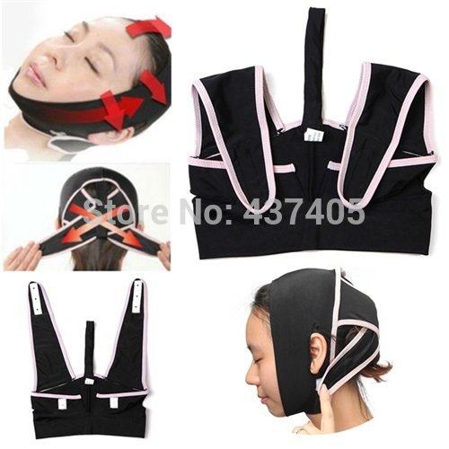 Price comparison product image 3d Chin Uplift Sharp Slim Slimming Shaping Cheek Scalp Face Belt Anti Wrinkle Sagging Mask
