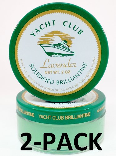 Yacht Club Lavender Solidified Brilliantine 2 oz. 2-PACK