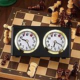 Chess Clock Mechanical Chess Timer Clock Wind-Up