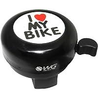 Buzina WG Sports Trim Trim I Love My Bike Preto