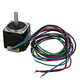 uxcell Nema 8 60cm Wire 1.8 Degree CNC Stepping Stepper Motor 28mm 1.8V 0.6A 2oz.in