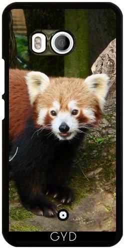 Funda para Htc U11 - Panda Rojo by More colors in life