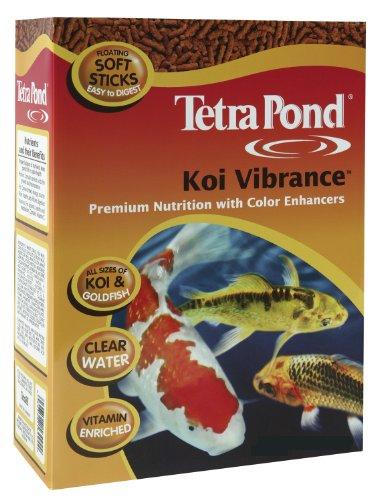 Food Sticks Vibrance Koi (Tetra Pond 16486 5.18 Lb Koi Vibrance™ Pond Fish Food)