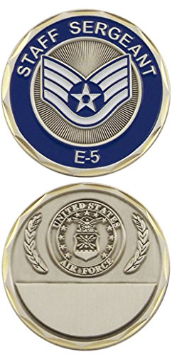 U.S. Air Force Staff Sergeant E-5 Challenge Coin ()