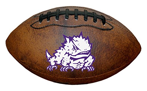 Game Master NCAA TCU Horned Frogs Color Logo Mini Football, ()
