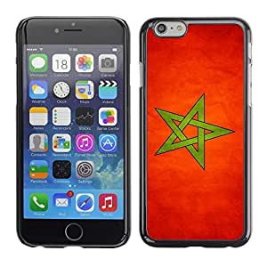 Shell-Star ( National Flag Series-Montenegro ) Snap On Hard Protective Case For SONY Xperia Z2 / D6502 / L50W