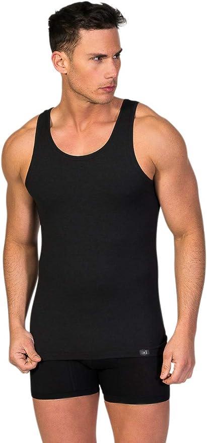 Camiseta Interior de Tirantes Hombre |Zero Defects | Hilo de Soja (Tallas y Colores Disponibles): Amazon.es: Ropa y accesorios