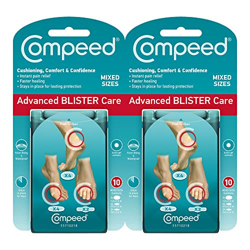 Compeed Advanced Blister Care Cushions 10 count mixed - 2 pack