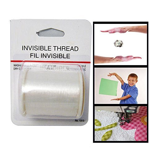 Invisible Thread Magic New Floating Trick Clear Sewing 219 Yards Nylon Magicians Party Activities -