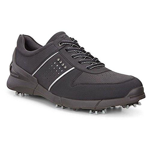 ECCO Men's Base One Golf Shoe, Black, 45 EU/11-11.5 M US