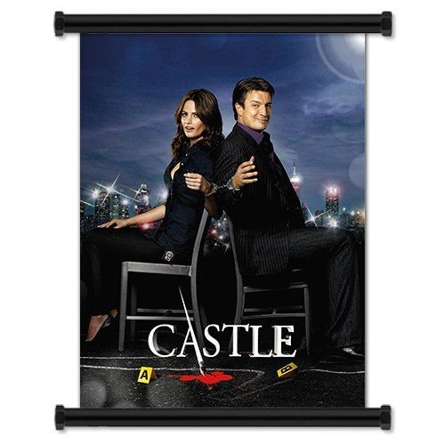 Castle TV Show Season 3 Fabric Wall Scroll Poster