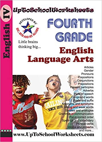 Buy Grade 4 English Grammar and Language Worksheets-CBSE