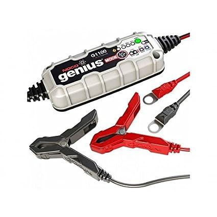 Cargador de batería NOCO Genius G1100 litio 6/12 V 1,1 A 40 ...