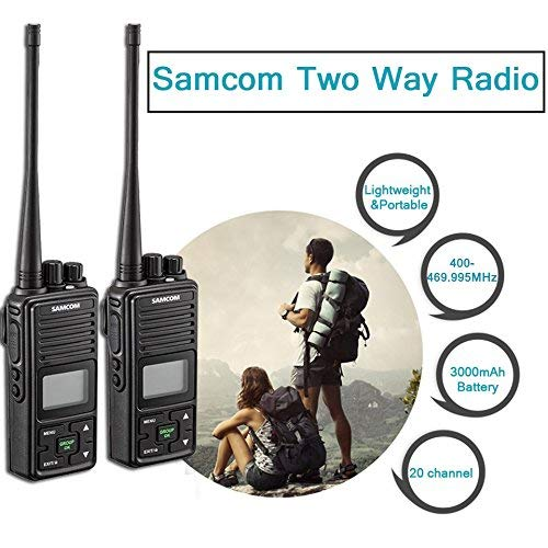 Long range two way radio