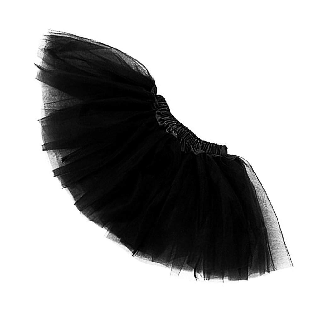mi ji Ballet del Consejo de Medio falda de Tulle de 3 capas ...
